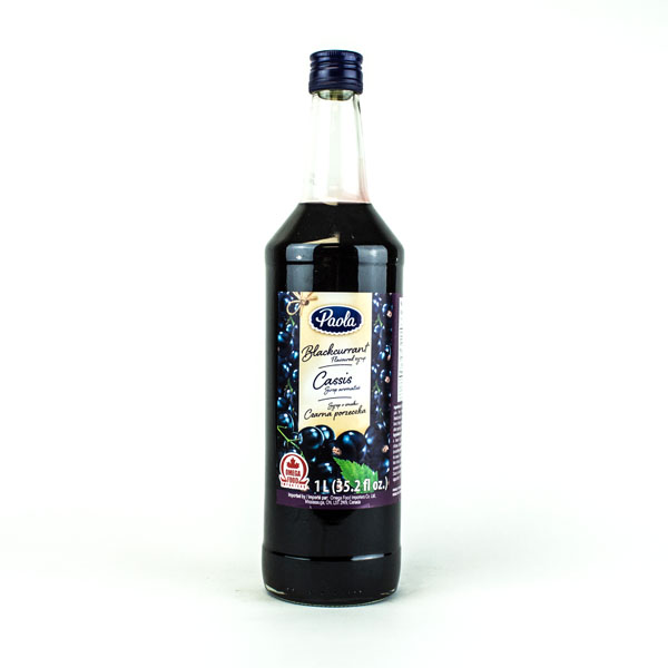 Paola Black Currant Syrup