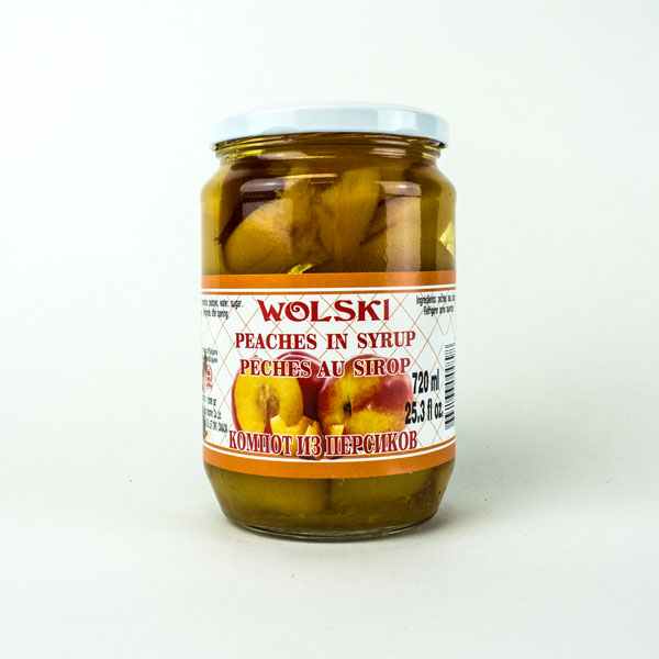 Wolski Peaches in Syrup