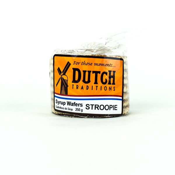 Dutch Syrup Wafers Margarine (Stroopies)