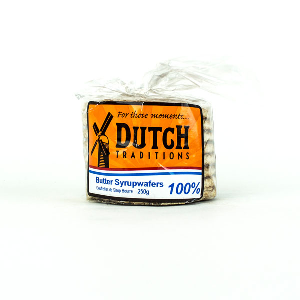 Dutch Syrup Wafers 100% Butter (Stroopwafels)