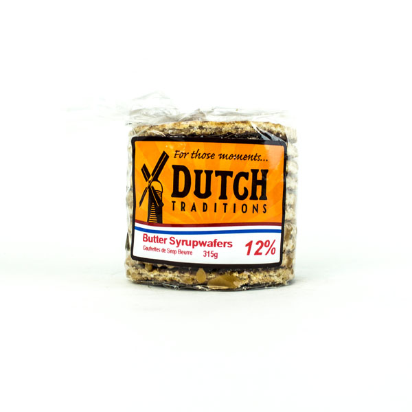 Dutch Syrup Wafers 12 % Butter