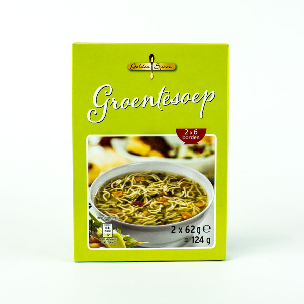 Golden Spoon Vegetable Soup Mix  2 Pack