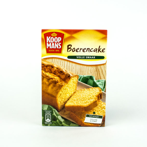 Koopmans Mix For Farmers Cake (Boeren)