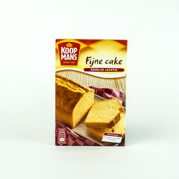 Koopmans Mix For Fine Cake