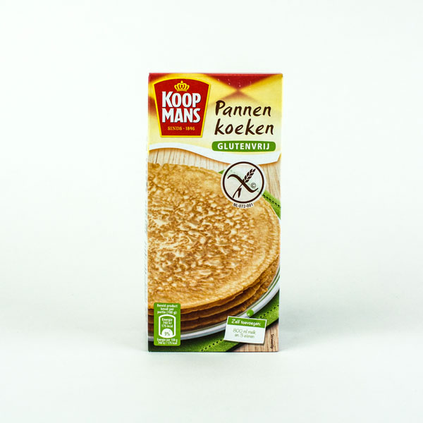 Koopmans Mix For Pancake Gluten Free