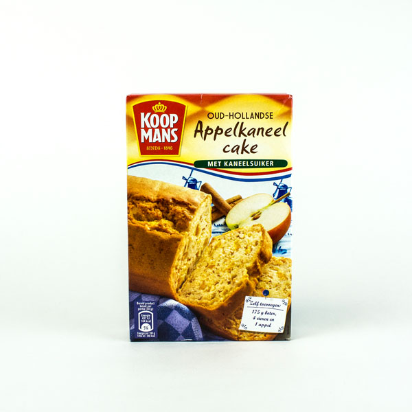 Koopmans Mix For Apple/Cinn. Cake
