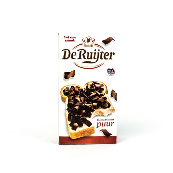 De Ruijter Chocolate Flakes  Dark