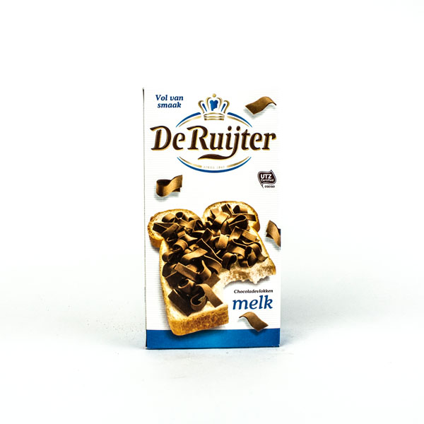 De Ruiter Chocolate Flakes Milk