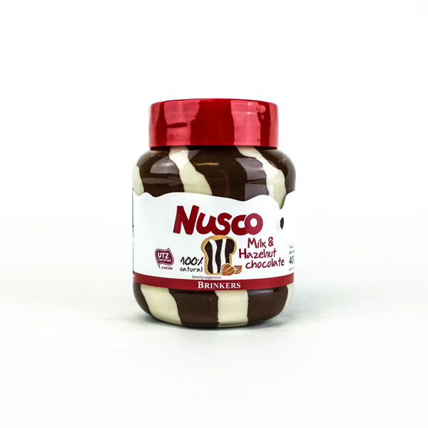 Nusco Chocolate Hazelnut Spread (Duo Spread)