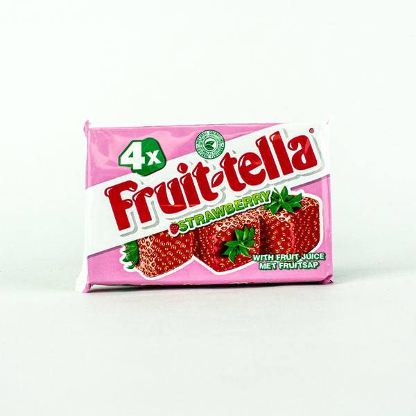 Fruit-tella Strawberry 4 Pack