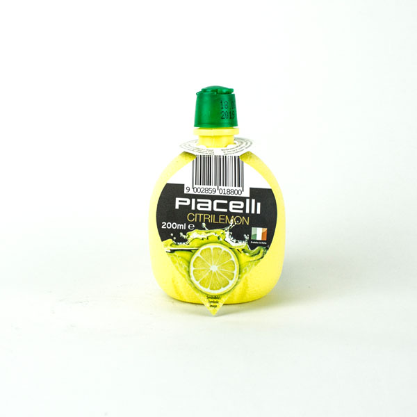 Piacelli Concentrated Lemon Juice